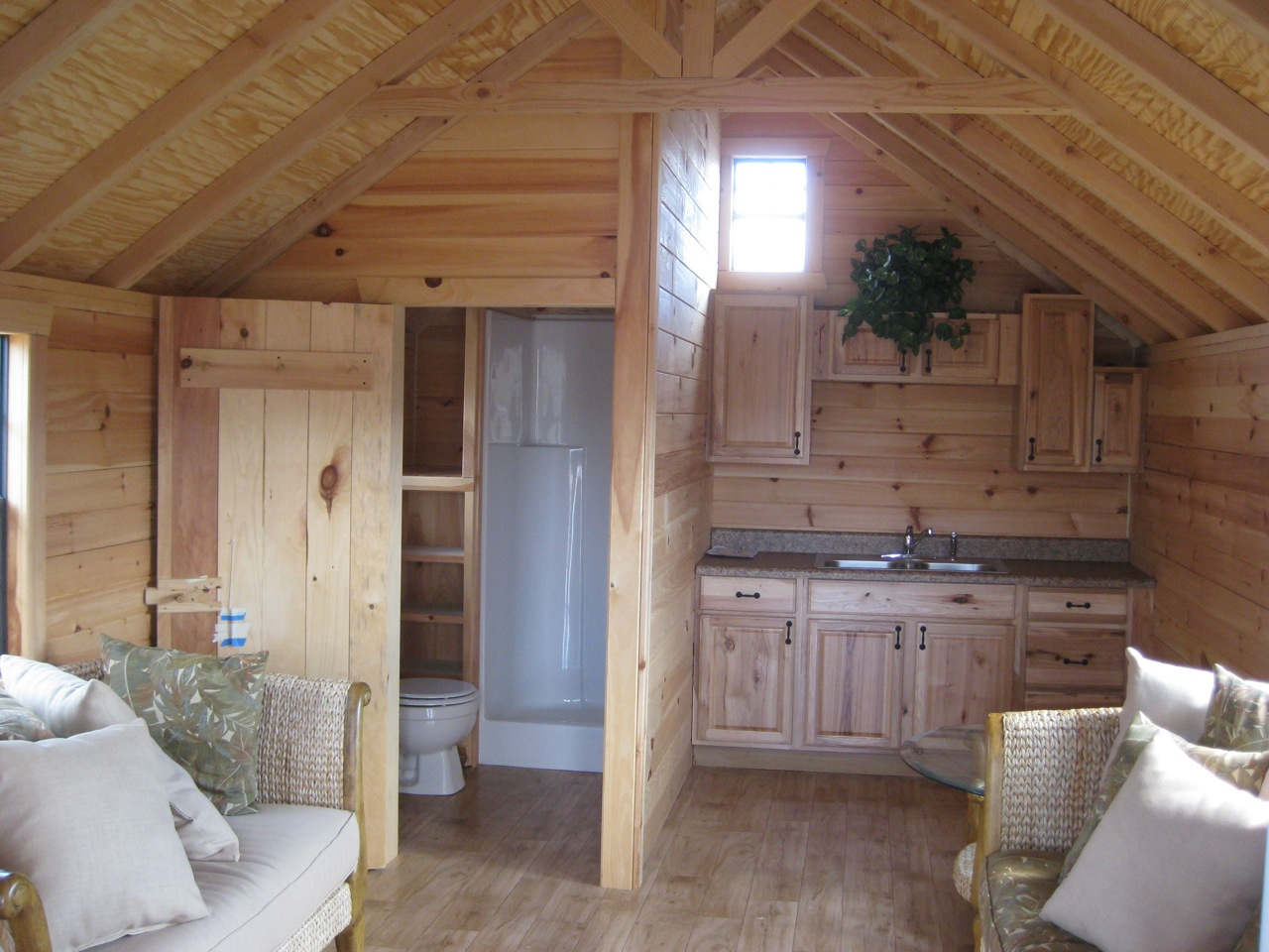 Little Cabin Inside